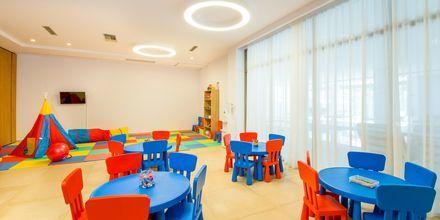 Barnklubb på hotell Kiani Beach Resort i Kalives på Kreta, Grekland.