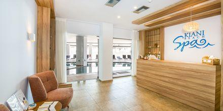 Spaavdelning på hotell Kiani Beach Resort i Kalives på Kreta, Grekland.