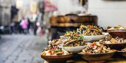 Kinesiska smaker i Kina.