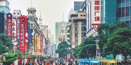 Shanghai i Kina.