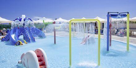 Barnpool på hotell Kipriotis Aqualand på Kos, Grekland.