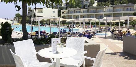 Baren på hotell Kipriotis Aqualand på Kos, Grekland.
