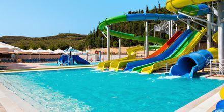 Vattenlandet på Kipriotis Aqualand på Kos, Grekland.