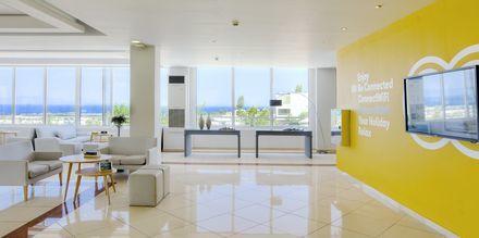 Lobbyn på hotell Kipriotis Aqualand på Kos, Grekland.