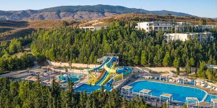 Vattenparken på hotell Kipriotis Aqualand på Kos, Grekland.