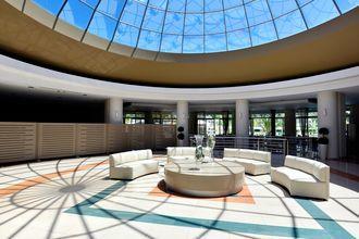 Lobby på hotell Kipriotis Maris Suites i Psalidi på Kos, Grekland.