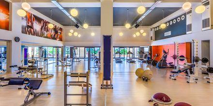 Gym på hotell Kipriotis Maris Suites i Psalidi på Kos, Grekland.