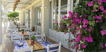 Restaurang Fish & More på Kipriotis Panorama & Suites på Kos, Grekland.