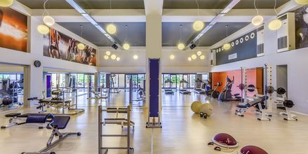 Gym på Kipriotis Panorama & Suites på Kos, Grekland.