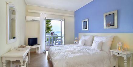 Dubbelrum på hotell Kivo Art & Gourmet i Vasilias på Skiathos, Grekland.
