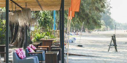 Strandrestaurang på Koh Lanta, Thailand.
