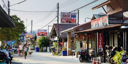 Ban Saladan på Koh Lanta, Thailand.