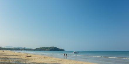 Klong Dao Beach på Koh Lanta, Thailand.