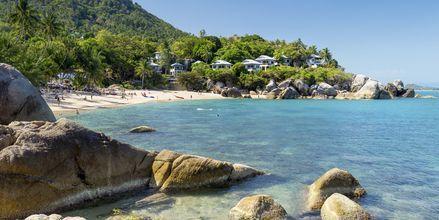 Strand på södra Koh Samui, Thailand.