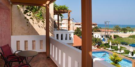Lägenhet på hotell Kokalas Resort i Georgiopolis på Kreta, Grekland.