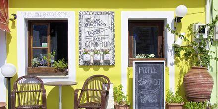 Färgglatt i Kokkari på Samos, Grekland.