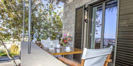 Tvårumslägenhet superior på Kolokotronis Hotel & Spa i Stoupa, Grekland.