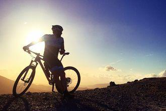 Cykeltur i Kolymbari på Kreta.
