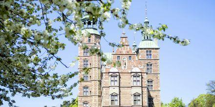 Rosenborgs Slott, ett av Köpenhamns många slott.