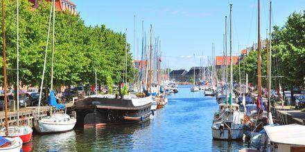Kanalen i Christianshavn, Köpenhamn.