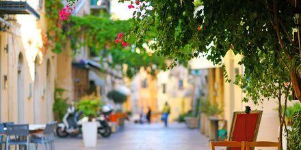 Korfu stad, Grekland.