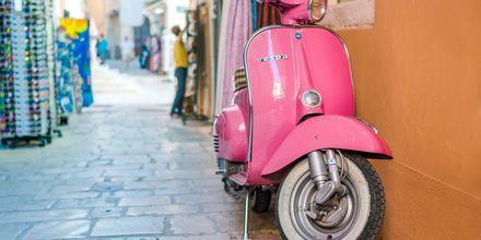 Korfu stad i Grekland.