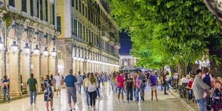 Liston i Korfu stad.