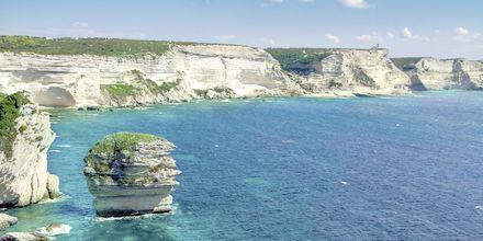 Bonifacio på Korsika.