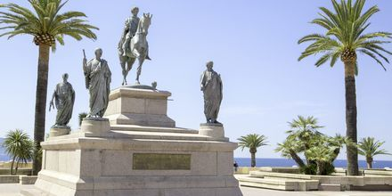 Staty av Napoleon, Ajaccio på Korsika.