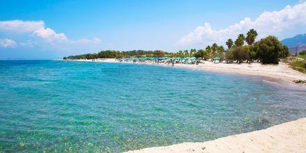 Marmari beach på Kos i Grekland.