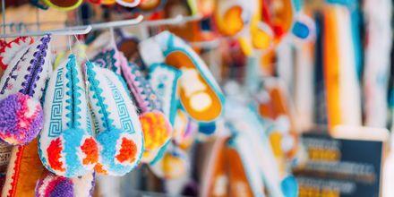 Traditionella souvenirer från Kos i Grekland.
