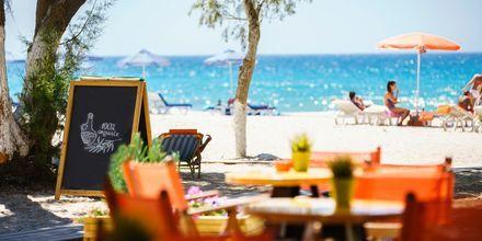 Strandliv på Kos i Grekland