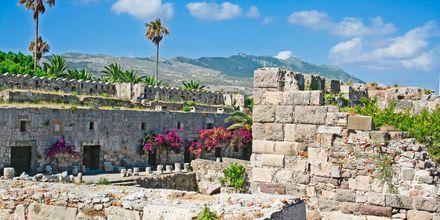 Fortet i Kos stad i Grekland.