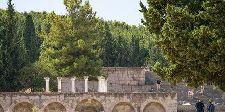 Ruinerna av templet Asklepion är en av Kos största sevärdheter.