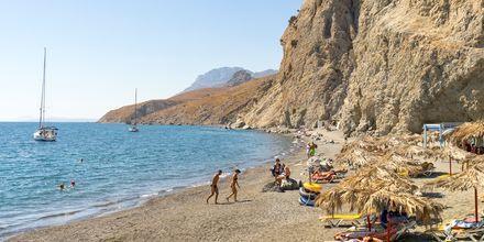 Missa inte att besöka Thermal Beach under din resa på Kos, Grekland.