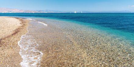 Lambi beach på Kos i Grekland.