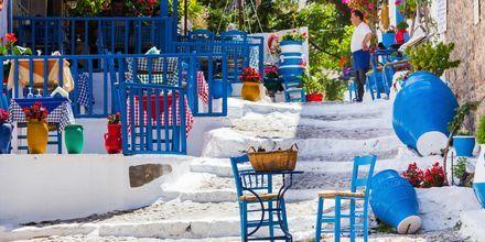Restaurang i Kos stad, Grekland.