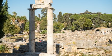 Ruin från den gamla agoran i Kos stad.