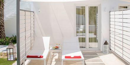 Superiorrum på hotell Kouros Seasight i Pythagorion på Samos, Grekland.