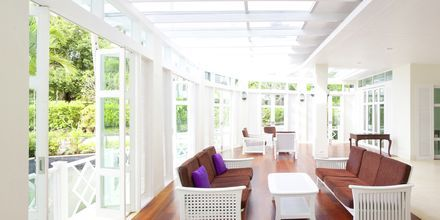 Lobby på Krabi Tipa Resort i Ao Nang i Thailand.