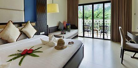 Familjerum på Krabi Tipa Resort i Ao Nang i Thailand.