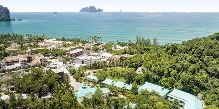 Krabi Tipa Resort i Ao Nang på Krabi, Thailand.