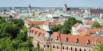 Vy över Krakow.