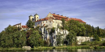 Benediktinerklostret i Tyniec utanför Krakow.