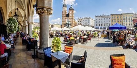 Stora torget, Rynek Glówny, i Krakow.