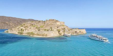 Upptäck ön Spinalonga som ligger strax utanför Kreta.