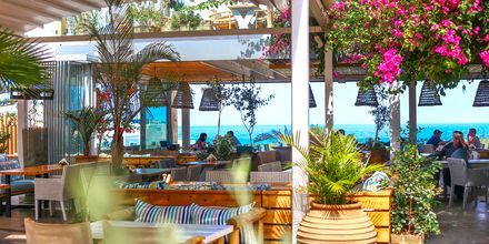 Njut av goda luncher med havsutsikt på Kreta.