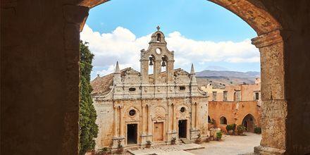 Arkadiklostret som ligger strax utanför Rethymnon på Kreta.