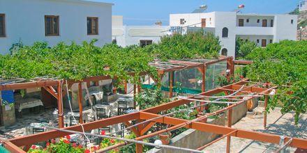 Hotell Krinos på Karpathos, Grekland.