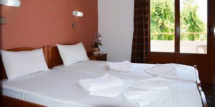 Mindre tvårumslägenhet på hotell Kydonia i Platanias, Kreta.